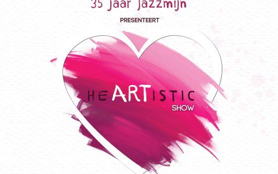 DVD Jazzmijn Heartistic show is beschikbaar!