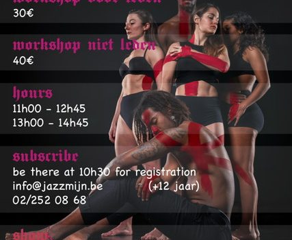 Workshop U.F.O. 18 november te Jazzmijn
