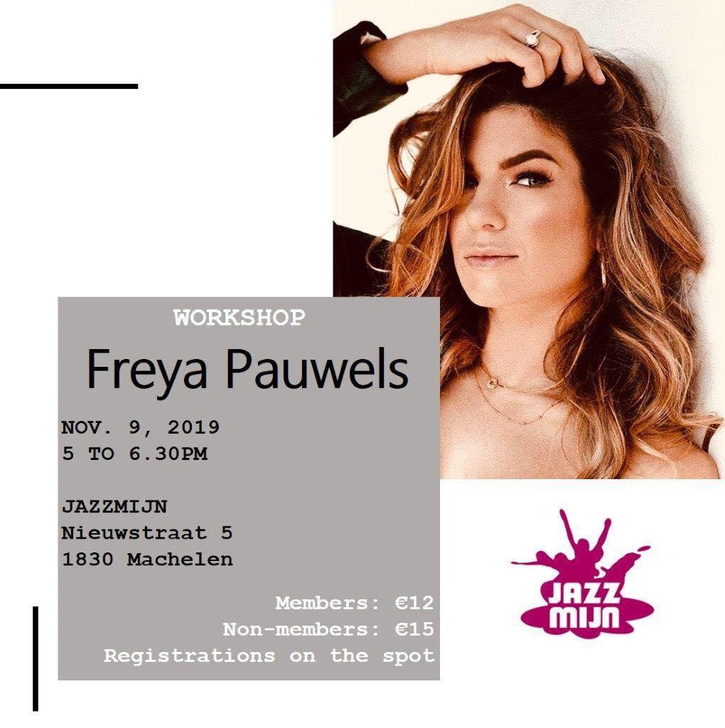 Workshop modern met Freya Pauwels
