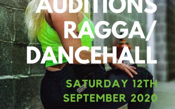 Audities Ragga/dancehall crews! zaterdag 12/09/2020